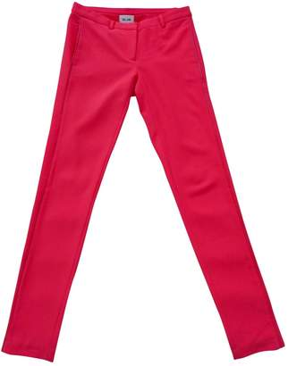 Bel Air Red Trousers for Women