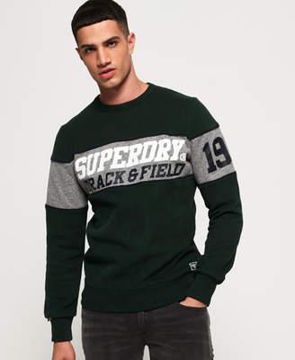 Superdry Triple Drop Track Crew Neck Sweatshirt