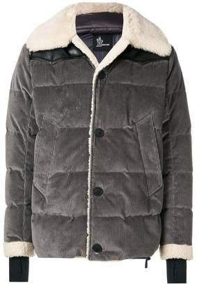 Moncler shearling coat