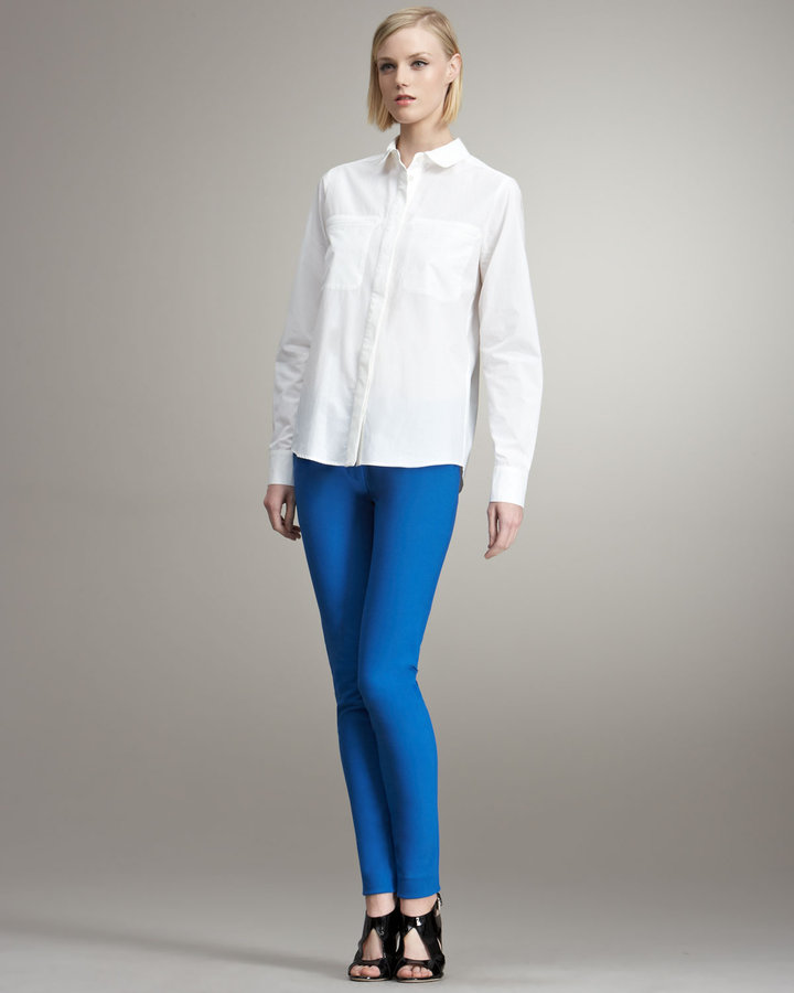 Stella McCartney Skinny Pants, Blue
