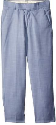 Calvin Klein Kids Striated Sharkskin Pants Boy's Casual Pants