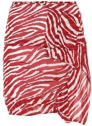 Etoile Isabel Marant Isabel Marant, étoile Jerine printed georgette miniskirt