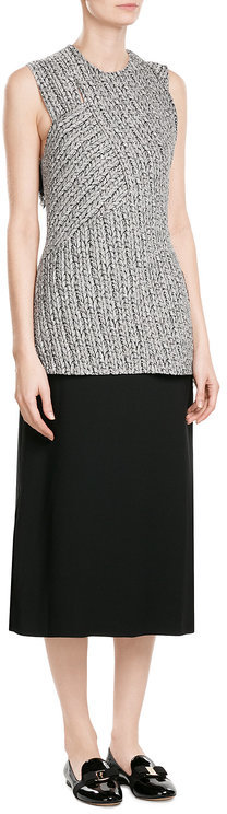 3.1 Phillip Lim 3.1 Phillip Lim Mixed-Media Dress