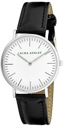 Laura Ashley Women's ' Quartz Metal and Polyurethane Casual Watch, Color:Black (Model: LA31020BK) $45.13 thestylecure.com