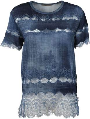 Ermanno Scervino Embroidered T-shirt