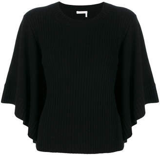 Chloé cashmere ribbed top