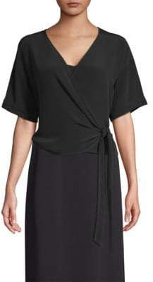 Eileen Fisher V-Neck Wrap Top
