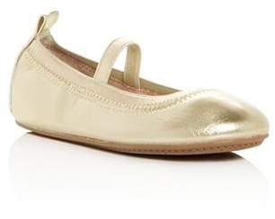 Yosi Samra Girls' Miss Samara Leather Ballet Flats - Baby, Toddler