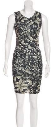 Haute Hippie Sleeveless Mini Dress