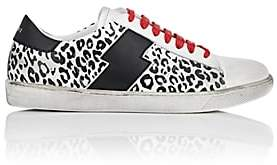 Amiri Women's Viper Leather Sneakers - Wht.&blk.