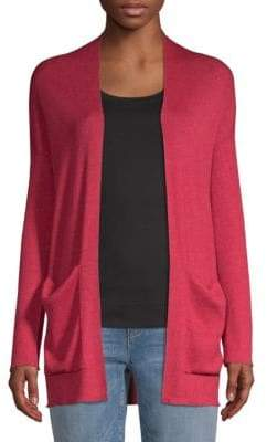 Eileen Fisher Open Front Cardigan Sweater