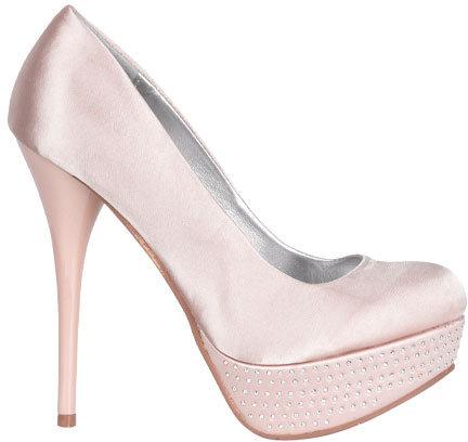 Delia's Satin Sparkle Heel