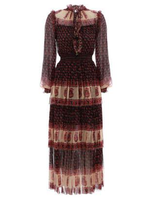Zimmermann Jaya Stamp Layer Dress