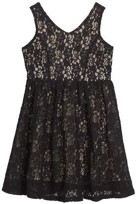 Soprano Lace Skater Dress (Big Girls)