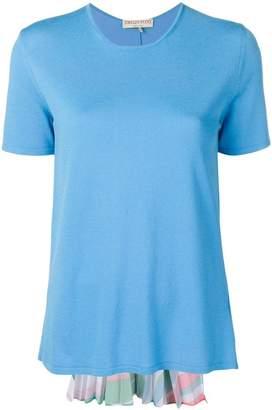 Emilio Pucci pleated back panel T-shirt
