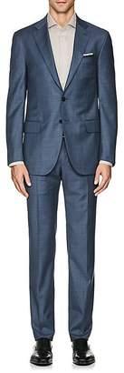 Isaia Men's Sanita Wool Twill Two-Button Suit