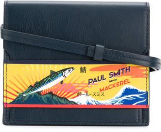 Paul Smith logo print crossbody bag
