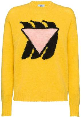 Prada Banana knitted sweater