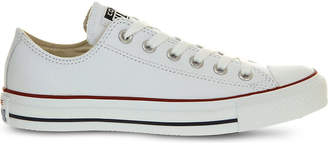 Converse low-top leather trainers