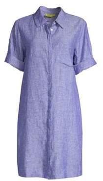 Roller Rabbit Angela Chambray Linen Shirtdress