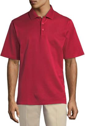 Bugatchi Jacquard Cotton Polo Shirt