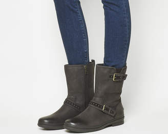 91c40e67fb3 UGG Leather Upper Boots For Women - ShopStyle UK