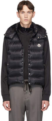 Moncler Black Down Billecart Gilet Vest