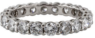 Tiffany & Co. Eternity Band $4,995 thestylecure.com