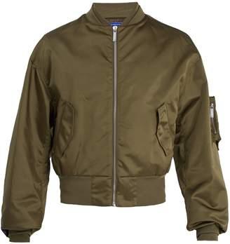 MAISON KITSUNÉ ADER ERROR X Logo-embroidered bomber jacket