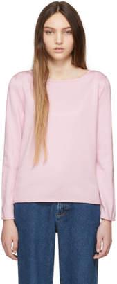 A.P.C. Pink Annette Jumper Sweatshirt