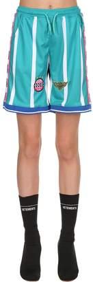 Ksfc Striped Techno Soccer Shorts