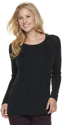 d28d06be35d Sonoma Goods For Life Women s SONOMA Goods for Life Twist Cable-Knit Sweater