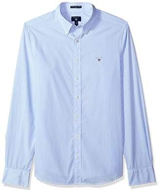 Gant Men's Slim Broadcloth Banker Stripe Shirt
