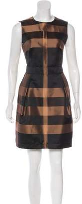 Burberry Sleeveless Mini Dress
