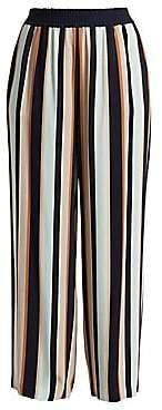 Lafayette 148 New York Lafayette 148 New York, Plus Size Women's Hester Striped Wide Leg Pants