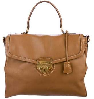 Prada City Calf Satchel