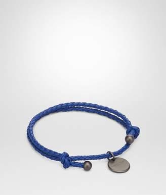 Bottega Veneta Cobalt Intrecciato Nappa Bracelet