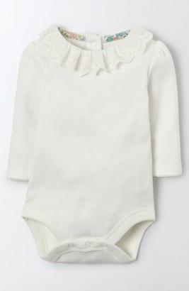 Infant Girl's Mini Boden Pretty Collar Bodysuit $25 thestylecure.com