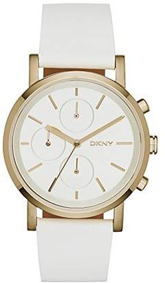 DKNY Women's Quartz Watch with Chronograph Quartz Leather NY2337