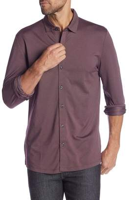 Robert Barakett Braden Long Sleeve Sport Shirt