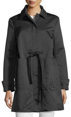 Moncler Epidote Self-Tie Long Utility Jacket