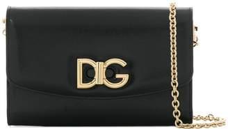Dolce & Gabbana logo twist lock crossbody bag
