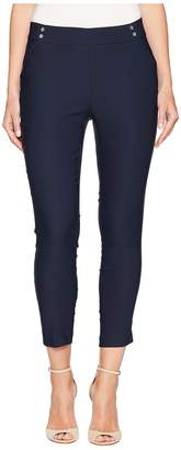 Jones New York Pull-On Crop w/ Button Pocket Detail 28 Inseam Women's Casual Pants