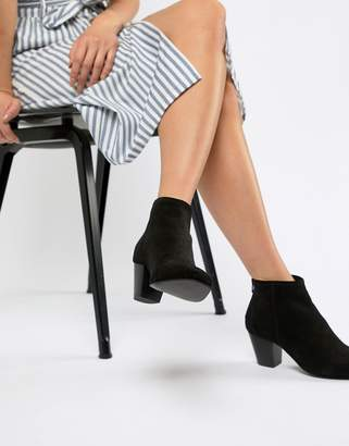 Asos Design DESIGN Runaway suede ankle boots