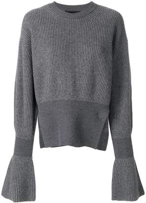 Alexander Wang flared sleeve knit jumper