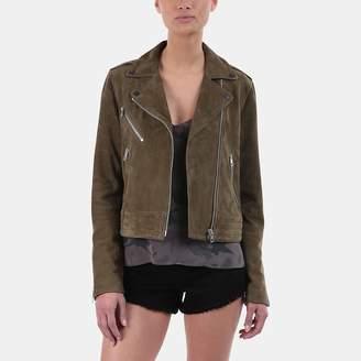 Rag & Bone Mercer Suede Moto Jacket