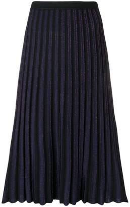 Diane von Furstenberg pleated midi skirt