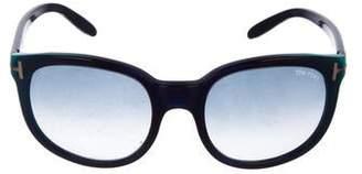 Tom Ford Lauren Gradient Sunglasses