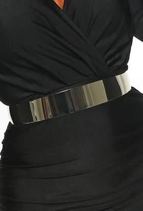 Pink Boutique Belted In Silver Metal Waist Belt