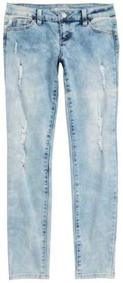 Tractr Distressed Basic Jeans (Big Girls)
